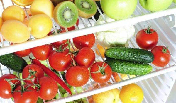 conservare gli alimenti in frigo