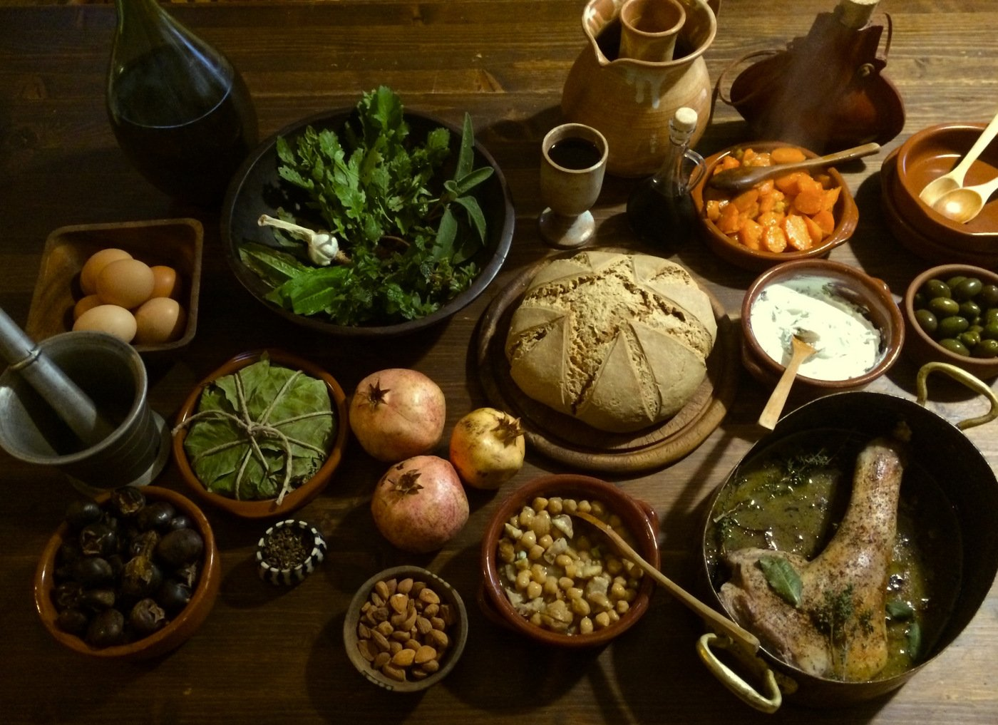 La cucina romana ieri vs oggi la cucina romana ieri vs oggi for Cucina romana antica